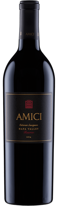 2014 Amici Cabernet Sauvignon Reserve Napa Valley Bottle