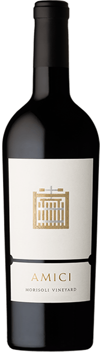 2017 Amici Morisoli Vineyard Cabernet Sauvignon Bottle