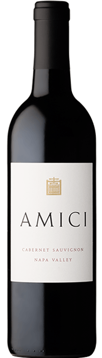 2018 Amici Cabernet Sauvignon Napa Valley Bottle