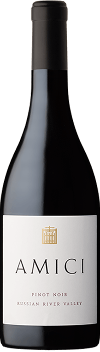 2018 Amici Pinot Noir Russian River Valley Bottle