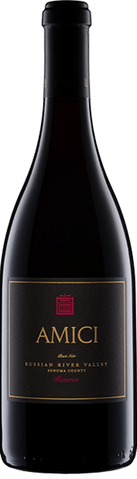 2014 Amici Pinot Noir Reserve Russian River Valley Bottle