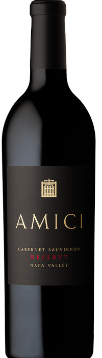2017 Amici Cabernet Sauvignon Reserve Napa Valley Bottle