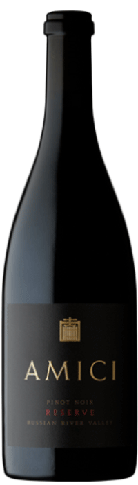 2018 Amici Pinot Noir Reserve Russian River Valley Bottle