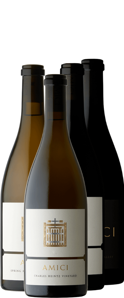 Amici Chardonnay & Pinot Noir Four-Pack Bottle