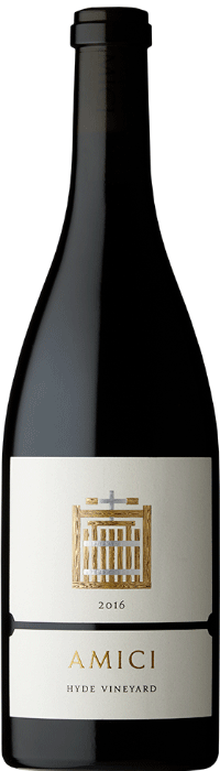 2016 Amici Hyde Pinot Noir Bottle