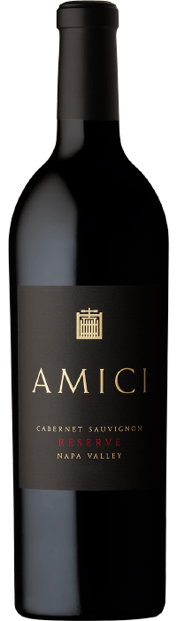 2018 Amici Cabernet Sauvignon Reserve Napa Valley Bottle