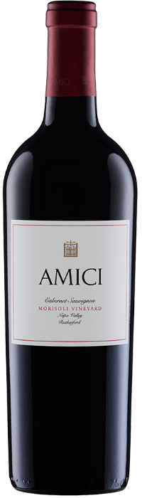 2014 Amici Morisoli Vineyard Cabernet Sauvignon Bottle