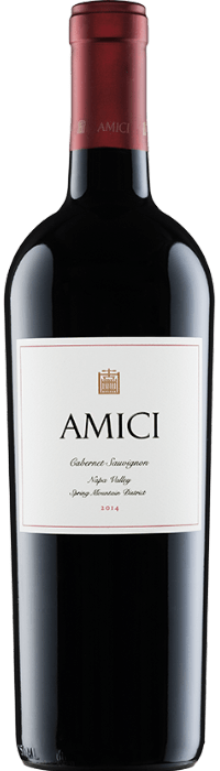 2014 Amici Spring Mountain Cabernet Sauvignon Bottle