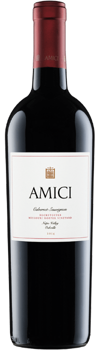 2014 Amici Missouri Hopper Cabernet Sauvignon Bottle