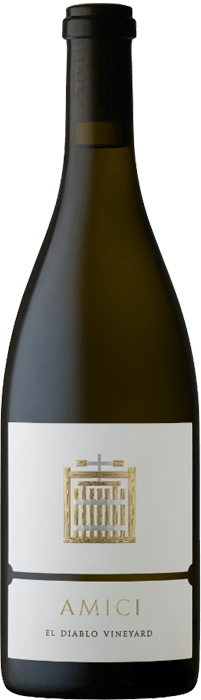 2018 Amici El Diablo Vineyard Chardonnay Bottle